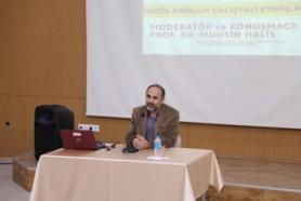 İletişim Fakültesi Dekanı Prof. Dr. Muhsin HALİS ...